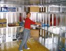 Seinähylly varastokontille Totak, LxS 1000x420 mm
