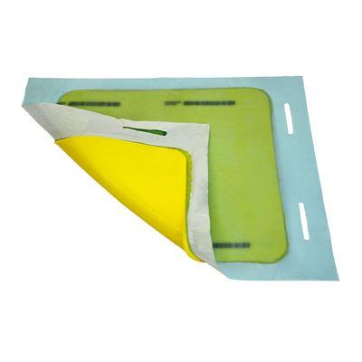 Kaivonsulkumatto neliö, säilytyslaatikolla, PxLxK 900x900x8 mm