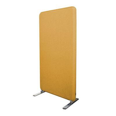 Lattiasermi Domo, PxKxS 1264x1600x40 mm, keltainen