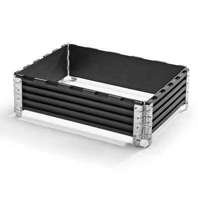 Lavakaulus, muovia, PxL 800x600 mm, 4 saranaa, 2 kpl/pakk, hinta ostaessasi 5-9 pakk