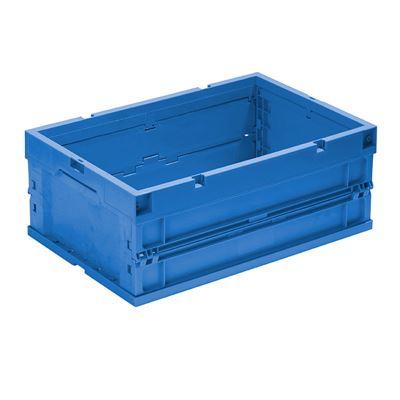 Laatikko Vilmos, kokoontaitettava PxLxK 600x400x320 mm, sininen, 4 kpl/pakk