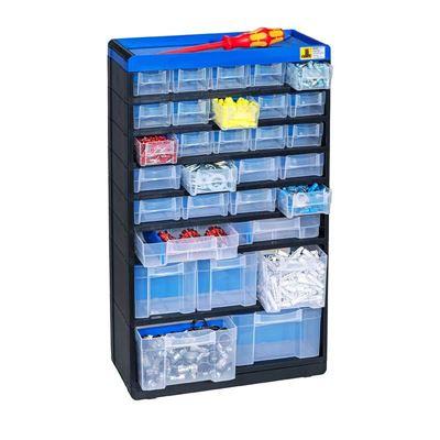 Pientavaralaatikosto Terris KxLxS 525x300x135mm, 30 laatikkoa