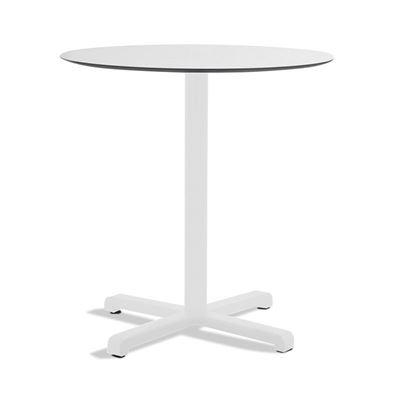 Kahvilapöytä Jill, pyöreä, valkoinen