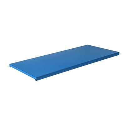 Hyllytaso peltikaapille Siljan, LxS 795x350 mm, 2-pakk, sininen, matta