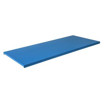 Hyllytaso peltikaapille Siljan, LxS 995x433 mm, 2-pakk, sininen, matta
