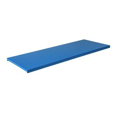 Hyllytaso peltikaapille Siljan, LxS 915x350 mm, 2-pakk, sininen, matta